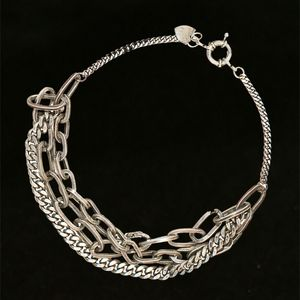 Jewelry - Giles & Brq Silver heavy link necklace